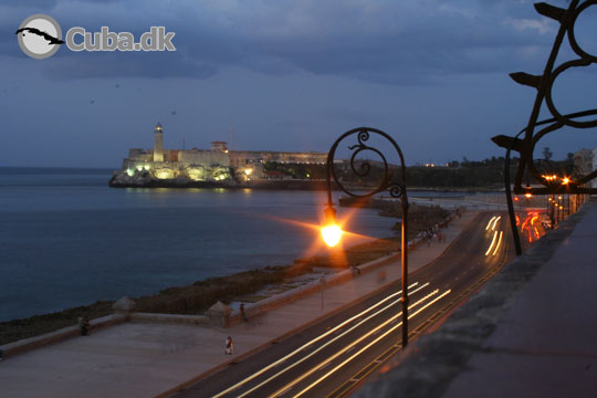Malecon by night